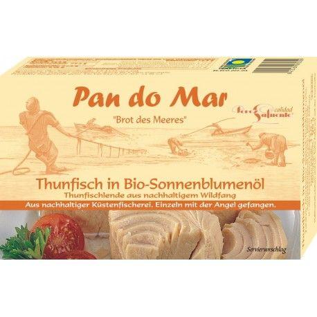 Ton in ulei de floarea-soarelui x 120g Pan Do Mar