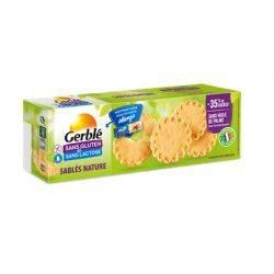 Biscuiti fara gluten si lactoza x 120g (4 x 30g) Gerble