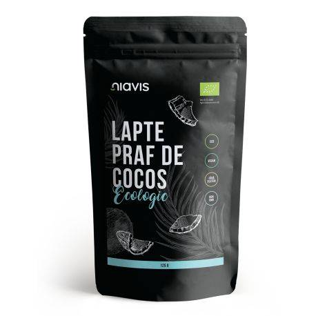 Lapte praf de cocos Ecologic/BIO x 125g Niavis
