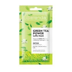 Masca de fata detoxifianta cu ceai verde 2in1 Green Tea Power x 8g Bielenda
