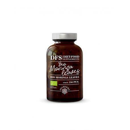Bio Moringa - 250 tablete x 500mg -125g x Diet Food