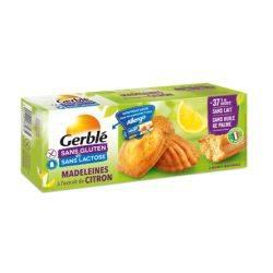 Madlene cu lamaie fara gluten si lactoza x 180g (6x30g) Gerble