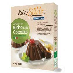 Pudra pentru budinca de ciocolata bio fara gluten, vegan x 50g bioSUN