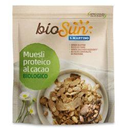 Musli bio proteic cu cacao fara gluten x 200g BioSUN