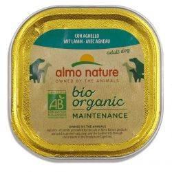 BioOrganic Maintenance Hrana umeda pentru caine adult cu miel x 100g Almo Nature