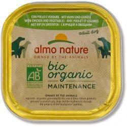 BioOrganic Maintenance Hrana umeda pentru caine adult cu pui si legume x 300g Almo Nature