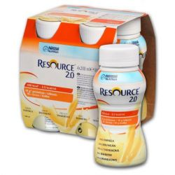 Resource 2.0 vanilla x 200ml (4 buc) Nestle