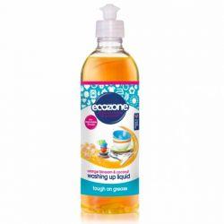 Solutie concentrata pentru spalat vase cu floare de portocal si nuca de cocos x 500ml Ecozone