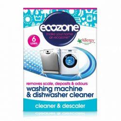 Tablete pentru curatarea masinii de spalat rufe si vase x 6buc Ecozone
