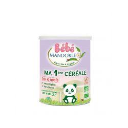 Cereale pentru bebelusi de la 4 luni x 400g Bebe Mandorle