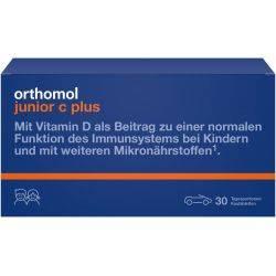 Orthomol Immun Junior C Plus Fructe de padure x 30tb masticabile