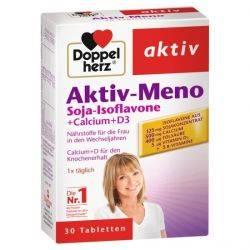 Doppelherz aktiv Aktiv Meno Soia isoflavone + Calciu + Vitamina D3 x 30 comprimate