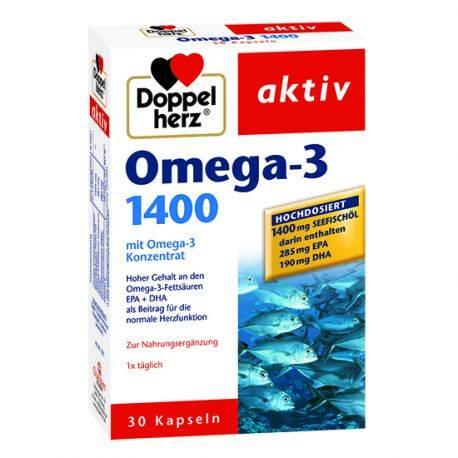 Doppelherz aktiv Omega-3 1400mg x 30 capsule