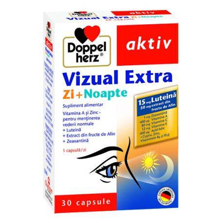 Doppelherz aktiv Vizual Extra Zi + Noapte x 30 capsule