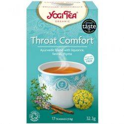 Ceai cu lemn dulce, fenicul si cimbru Throat Comfort ECO x 32.3g (17 pliculete) Yogi Tea
