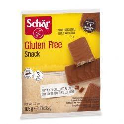Snack - Napolitane fara gluten invelite in ciocolata x 105g Dr. Schar