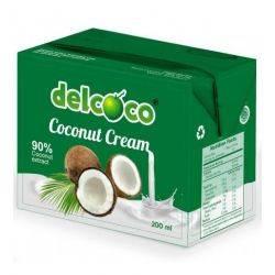 Crema de cocos fara gluten x 200ml Delcoco